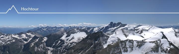 Großen Wiesbachhorn (3564m) über Kaindlgrat