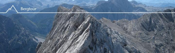 Den Hochkalter (2607m) überschritten…