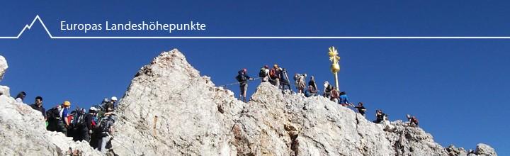 O'zapft is – der höchste Biergarten Deutschlands, die Zugspitze (2962m)