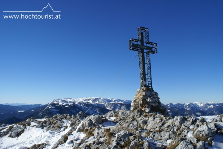 Der Gipfel des Krummbachstein, mittlerweile schon ein alter Bekannter.