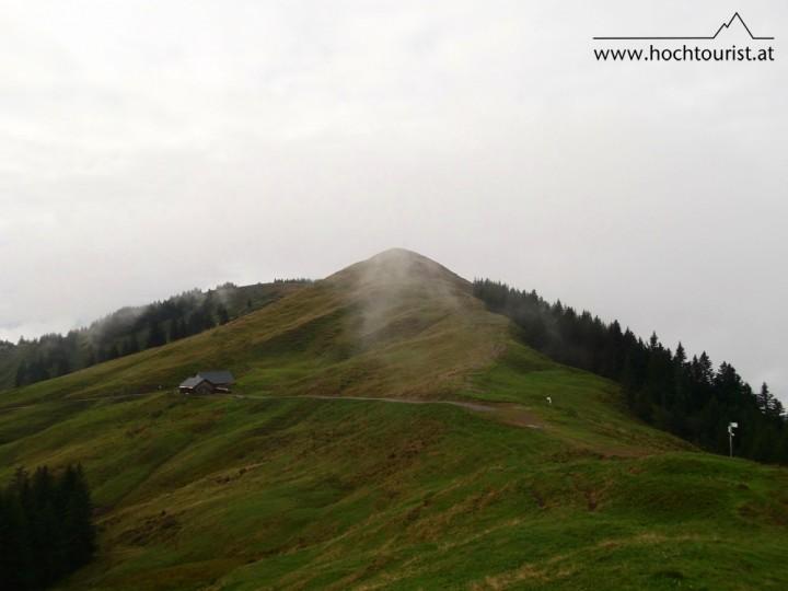 Die Hohe Kugel - ein beliebter Skitourenberg.