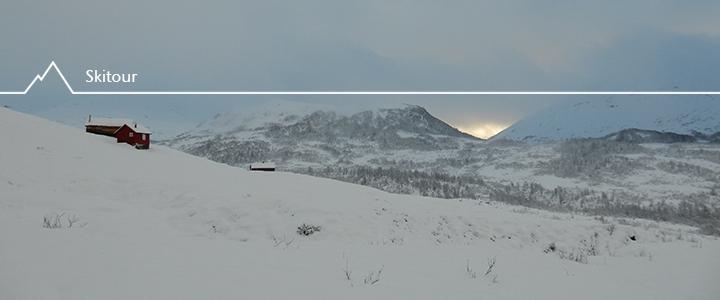 Skitourenauftakt: Bjørndalskamben in Myrkdalen