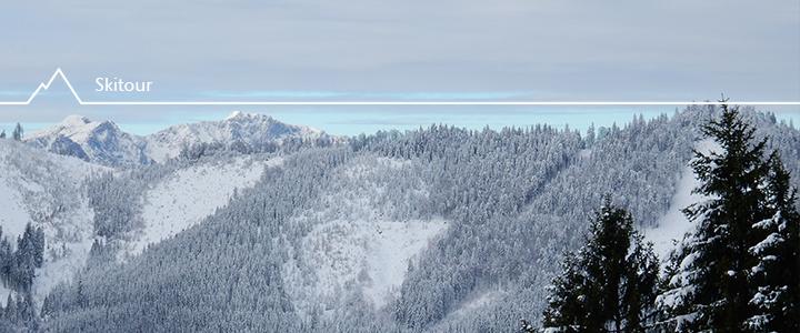 Skitour im ehemaligen Skigebiet Viehtaleralm