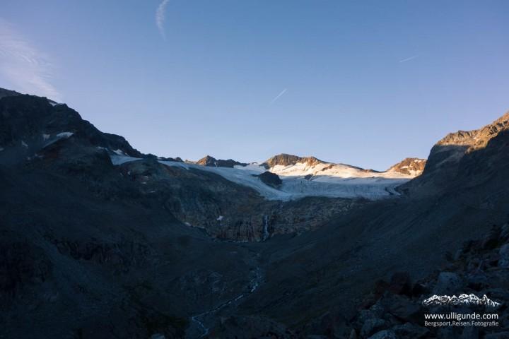 Gletscherschwund zu früher Stund