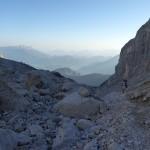 Traumhafter Blick ins Berchtesgadener Land und zum Untersberg