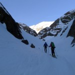 Nicht mehr weit, dann sind wir auf dem Gletscher.