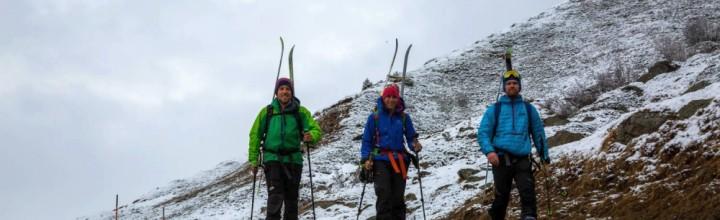 Ötztaler Skidurchquerung Teil 2: wie man trotz schlechtem Wetter eine gute Zeit haben kann