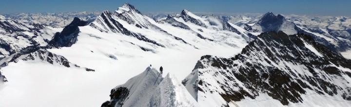 Skitourenabschluss Berner Oberland