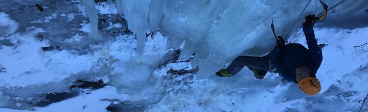 Eisklettern in Kolm-Saigurn